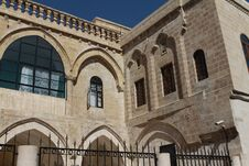 Free Gate Of Saint Hırmız Chaldean Church In Mardin. Stock Photo - 23731760