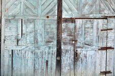 Free Wood Structure Door Stock Image - 23731771