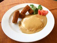 Free Steak Dinner Stock Images - 23732374