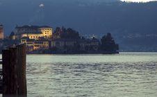 Isola San Giulio Royalty Free Stock Photo
