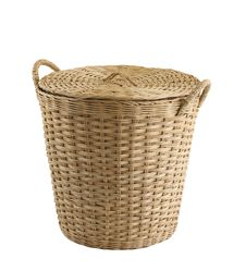 Free Empty Rattan Basket Stock Photo - 23733450
