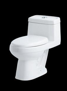 Free Modern Design Of The Toilet Bowl Royalty Free Stock Photos - 23733798