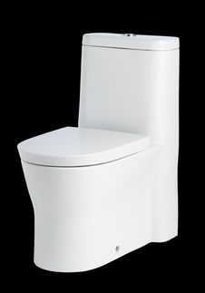 Free Bathroom Toilet Bowl Royalty Free Stock Photography - 23733907