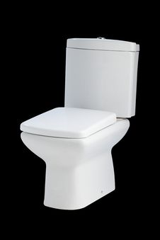 Free Modern Toilet Bowl Royalty Free Stock Images - 23733909