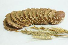 Free Oat Slice Bread Stock Photo - 23734320