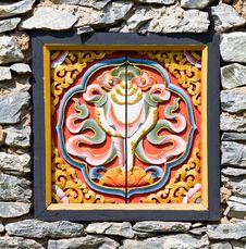 Free Ancient Art Of Phutan Temple Royalty Free Stock Photo - 23735045