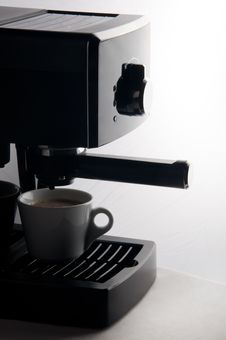 Free Espresso Coffee Maker Stock Images - 23737764