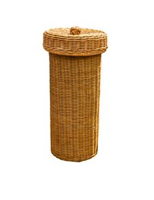 Basket Rattan Royalty Free Stock Images