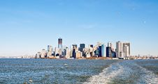 Free Manhattan Skyline Stock Image - 23739171