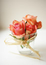 Free Roses In A Glass Stock Photography - 23747362