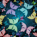 Free Seamless Floral Pattern Royalty Free Stock Image - 23749826