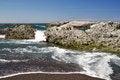 Free Pacific Ocean Rocks Royalty Free Stock Photo - 23749935