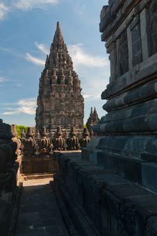 Free Prambanan Temple, Java, Indonesia Stock Images - 23740434