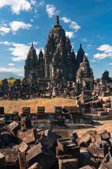 Free Prambanan Temple, Java, Indonesia Stock Photography - 23740472