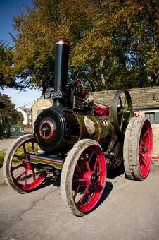 Free STEAM TRACTION ENGINES Royalty Free Stock Images - 23740569