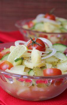 Free Potato Salad Royalty Free Stock Photo - 23742195
