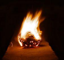 Free Burning Paper Stock Photos - 23750313