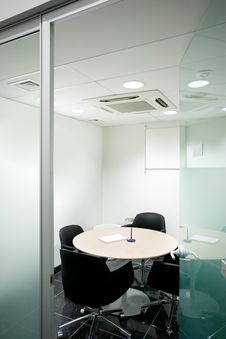 Free Meeting Room Royalty Free Stock Image - 23754256