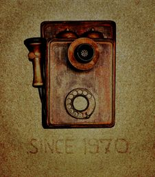 Free Telephone Retro Stock Photography - 23756102
