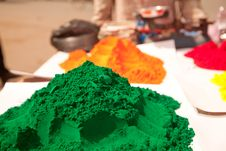 Color Full Colors Of Holi Stock Images