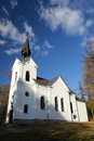 Free Small White Church Royalty Free Stock Images - 23763339