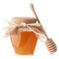 Free Honey With Wood Stick Stock Images - 23763784
