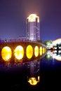 Free Night City Park Lakes Stock Photos - 23767283