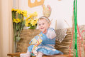 Free Children In Ukrainian National Costume Stock Photography - 23769202