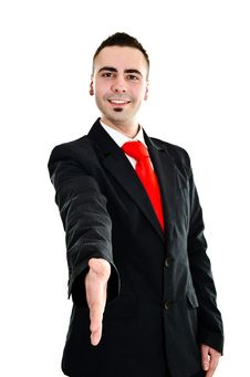 Free Businessman S Handshake Stock Photography - 23764402