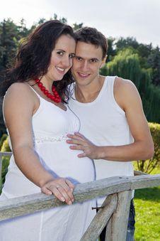 Free Pregnant Couple Stock Photos - 23764783