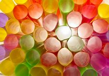 Free Multi-color Of Straw Stock Photo - 23764970