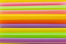 Free Multi-color Of Straw Royalty Free Stock Photography - 23765037