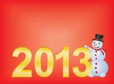 Free New Year 2013 Royalty Free Stock Photos - 23767278