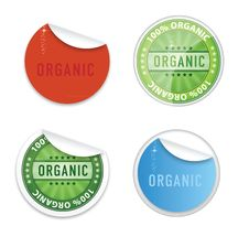 Free Curl Eco Labels Emblems Symbols Set Stock Photo - 23767830