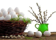 Free Easter Eggs Royalty Free Stock Photo - 23768215
