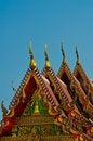 Free Golden Temple Gable Royalty Free Stock Photos - 23774558