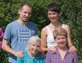 Free Three Generations Of Family Royalty Free Stock Photos - 23775468