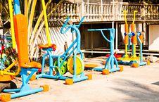 Free Fitness Equipment. Stock Photos - 23770823