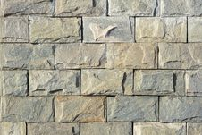 Free Stone Brick Wall Royalty Free Stock Photo - 23772925