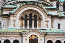 The St. Alexander Nevsky Cathedral, A Bulgarian Or Royalty Free Stock Photos