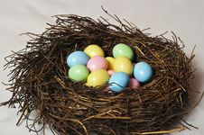 Free Easter Nest Stock Photography - 23773882
