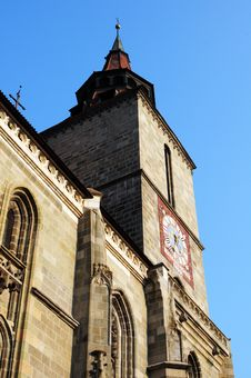 Black Church, Brasov, Romania Royalty Free Stock Image