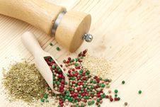 Free Peppercorn, Sesame, Dried Herbs Stock Photo - 23778240