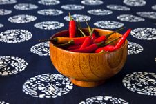 Free A Bowl Of Peppers Royalty Free Stock Images - 23779969