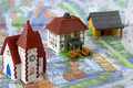 Free Village Miniature With Houses Stock Photo - 23789730