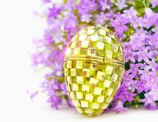 Free Easter Glass Egg Royalty Free Stock Photos - 23781138