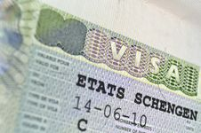 Free Schengen Visa Royalty Free Stock Images - 23781179