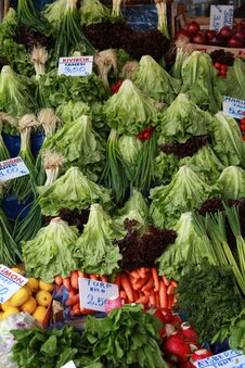 Free View Of Greengrocer Royalty Free Stock Photos - 23781788