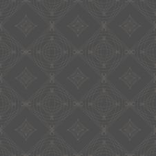 Symmetrical Seamless Vector Background Pattern. Royalty Free Stock Photo