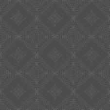 Symmetrical Seamless Vector Background Pattern.